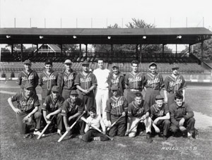 Hull's 1939 baseball team