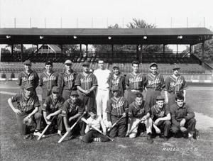 Hull's 1939 baseball team