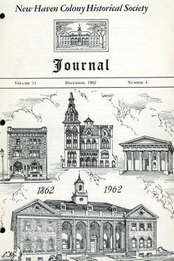 NHCHS Journal 1962 Centennial