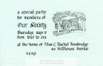 MSS 111: Our Society Records, 1832-1979