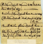 MSS 8: John Dixwell Papers, 1660-1766