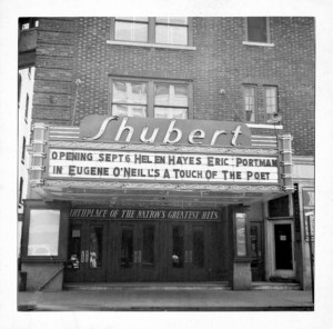 low res Exterior with Marquee 1930_ShubertArchives