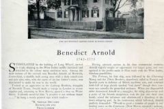 MSS 106: Benedict Arnold Papers, 1761-1794