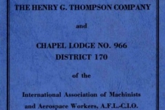 MSS 258: Henry G. Thompson Company Records, 1876-ongoing