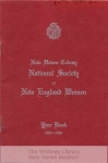 MSS 260: New Haven Colony, National Society of New England Women, Records, 1927-1971