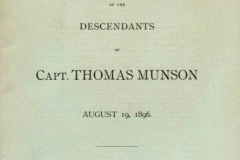 MSS 297: The Thomas Munson Foundation Records, 1982-ongoing