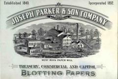 MSS 45: Joseph Parker & Son Company, Records, 1899-1939