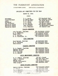 MSS 94: Fairmont Association Records, 1942-1959