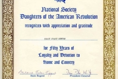 MSS 95: Daughters of the American Revolution, Mary Clap Wooster Chapter, Records, 1893-1974
