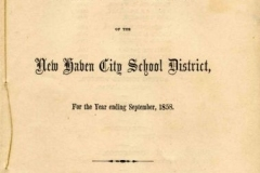 MSS B26: New Haven Board of Education Records, 1799-1970