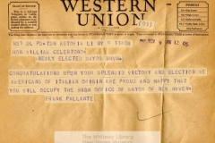 MSS B7: William C. Celentano Papers, 1927-1966