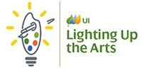 Logo for: United Illuminating Lighting Up the Arts